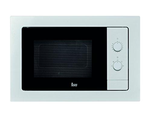Teka MB 620 BI – Microondas sin grill, 1100 W, color blanco