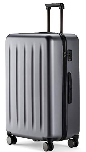 90FUN Trolley bagaglio a mano I Valigia rigida con lucchetto TSA I 55,5 x 37,5 x 22,3 cm I piccolo...