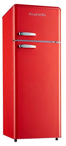 Combinazione frigorifero e congelatore in stile retro, rosso lucido GK212.4RT A++ 206litri,...