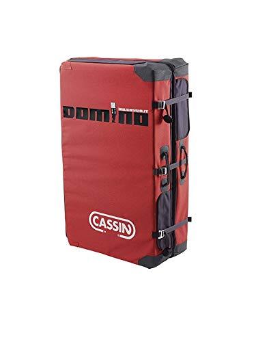 Cassin Domino–Color Rojo/Negro–Talla única–gruesa resistente Bouldering Crash Pad