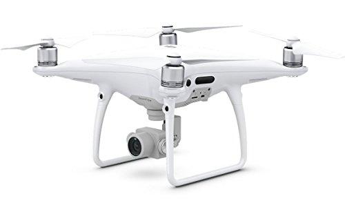 DJI PHANTOM 4 PRO - Fotocamera 20 MP I Risoluzione Video 4K I Autonomia 30 Min I Alte Prestazioni I Compatto E Potente I Struttura In Titanio - Bianco