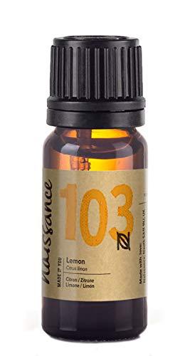 Naissance Olio di Limone - Olio Essenziale Puro al 100% - Vegano, senza OGM - 10ml