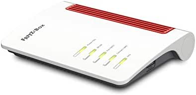 AVM Fritz Box 7530 High-End WLAN AC+N Router (DSL/VDSL, 866 MBit/s (5GHz) und 400 MBit/s (2,4 GHz), bis zu 300 Mbit/s durch VDSL-Supervectoring 35b, DECT-Basis, Media Server, geeignet für Deutschland)