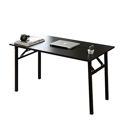 sogesfurniture Tavolo Pieghevole 100x60cm Scrivanie Computer Scrivanie Studio Ufficio Postazioni di...