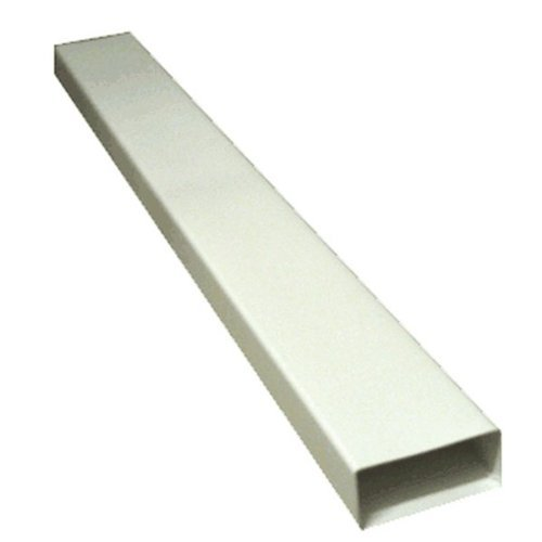 Kair Ventilation Ltd SYS-125-DUCVKC604 Tubatura 150 mm x 70 mm, lunghezza 1 m, colore: bianco