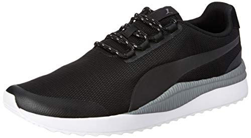 Puma Boy's Pacer Next FS Black-Iron Gate Sneakers-9 (36807301)