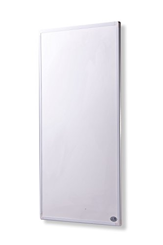 Infrarot Heizung mit Digitalthermostat 130, 300, 450, 600, 800, 1000 Watt Elektroheizung mit Stecker für Steckdose - 5 Jahre Herstellergarantie- Elektroheizung mit Überhitzungsschutz - mitgeliefert wird ein Zertifikat von deutscher Ingenieurgesellschaft auf Sicherheit - Unsere Geräte sind geprüft auf Sicherheit durch TÜV und/oder deutsche anerkannte Ingenieurgesellschaft- Heizt nach dem Prinzip der Sonne - heizt im optimalen Wellenlängenbereich von 8-15µ - Sonnenheizung - Rahmenfarbe ist weiß