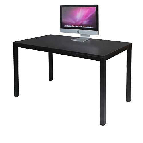 sogesfurniture Scrivanie 120x60cm Tavolo per Computer Ufficio Postazioni di Lavoro Scrivania PC...