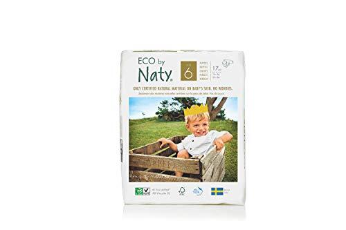 Nature Babycare Baby 17pannolini, misura 6