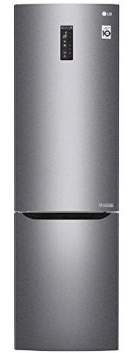LG GBB60DSMFS frigorifero con congelatore Libera installazione Grafite, Acciaio inossidabile 343 L...
