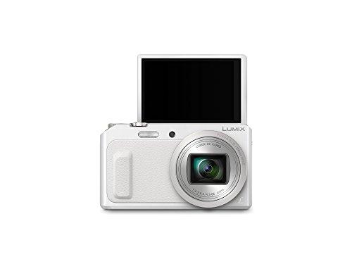 "Panasonic DMC-TZ57EG-W - Cámara compacta de 16 Mp (pantalla de 3"", zoom óptico 20x, estabilizador óptico, vídeo Full HD, WiFi), blanco"