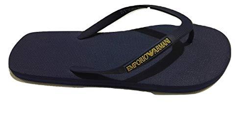Emporio Armani Flip Flop Rubber Navy X4QS02 Taglia 40