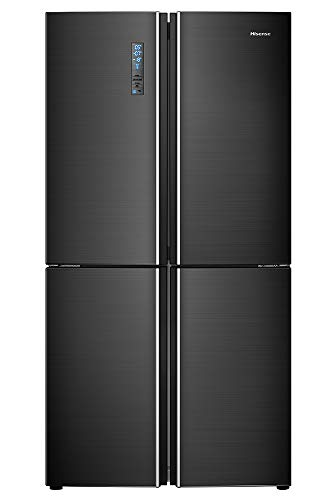 Hisense RQ689N4AF2 frigorifero side-by-side Libera installazione Nero 542 L A++
