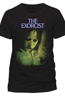 The Exorcist Green – Camiseta Negra Oficial y Original 100% Algodón