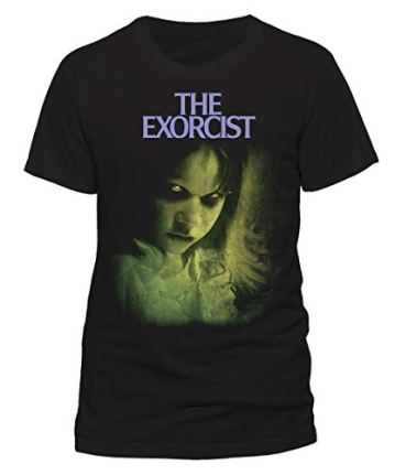 The Exorcist Green - Camiseta Negra Oficial y Original 100% Algodón 3