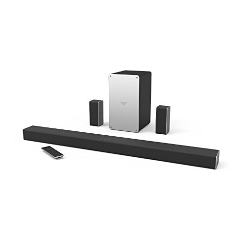 VIZIO SmartCast 5.1-Channel Soundbar System with 5 and 34 Wireless Subwoofer and Digital Amplifier