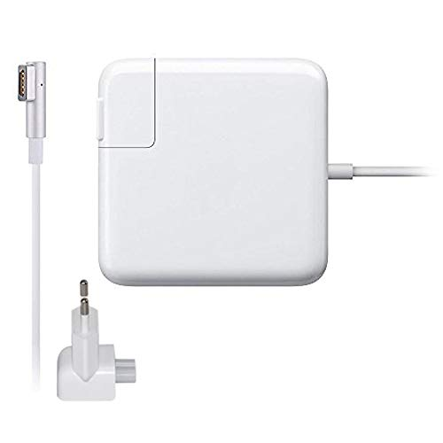 """Laprite Charger for Magsafe 60W for MacBook Pro 13"""" A1181, A1184, A1185, A1278, A1280, A1330, A1342, A1344 L-Shape Power Adapter, White"""