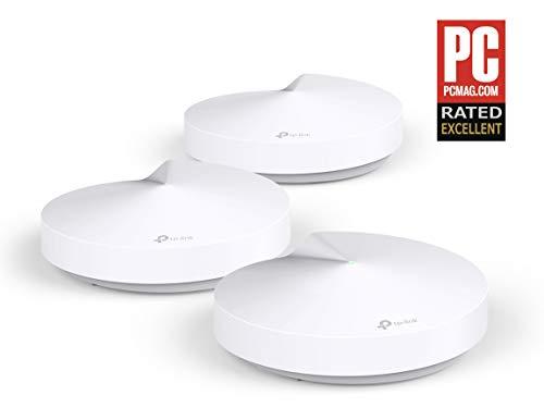 Tp-Link Deco M5 Wifi Mesh - 3 Unità Fino a 400㎡ - Ideale per Case su 2 o 3 Piani - Velocità...