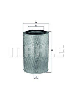 Mahle Knecht LX 273 Luftfilter