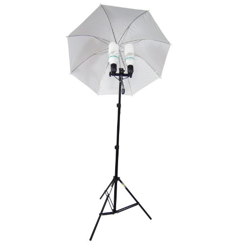 DynaSun MM285 800 W Kit 2 in 1, Illuminatore Daylight Compatto da Studio Professionale