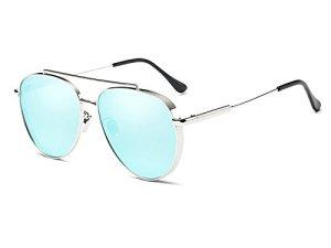Fenck Women Sunglasses Polarized Sun Glasses For Men Colorful Mirror Lenses cdb970e657