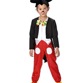 DISBACANAL Disfraz ratoncito Infantil - -, 8 años