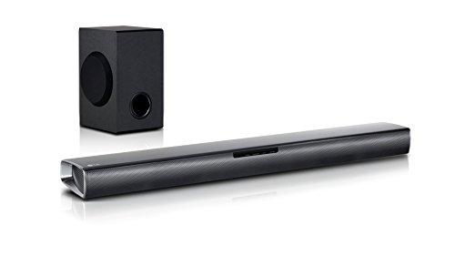 LG SJ2 altoparlante soundbar 2.1 canali 160 W Con cavo e senza cavo