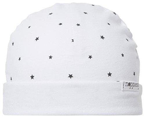 Noppies Unisex Baby U Hat REV Dani AOP Mütze, Weiß (White C001), One Size (Herstellergröße: 0M-3M)