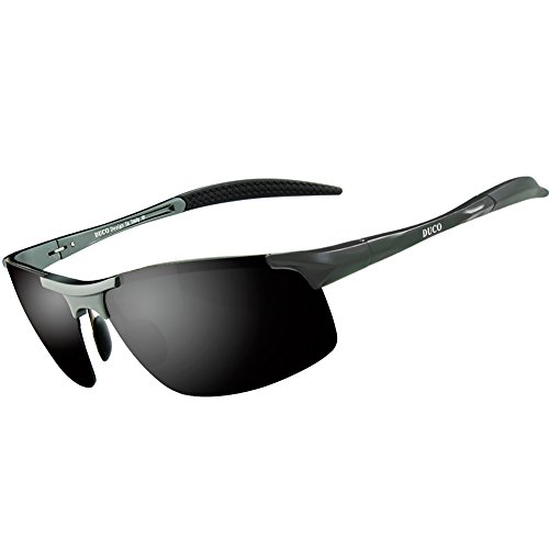 08c82984480 Duco Men s Driving Sunglasses Polarized Glasses Sports Eyewear Fishing Golf  Goggles 8177S