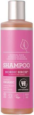URTEKRAM Champú Cabello Normal Abedul Nórdico - Con un ligero aroma - Con extractos de plantas - Fortalece el cabello - 500 ml
