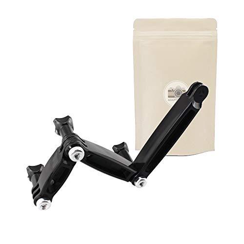 Adaptout - Set di 3 Bracci di Estensione per GoPro da 68 mm, 88 mm, 108 mm, Supporto di Estensione con Perno per Fotocamera Go PRO Hero 2/3/3+/4/5, Marca Francese