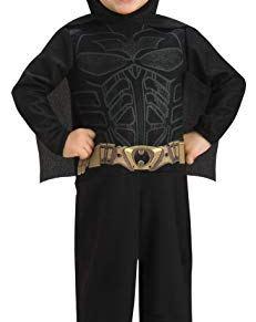Rubbies - Disfraz de Batman para niño, talla 1-2 años (881589T)