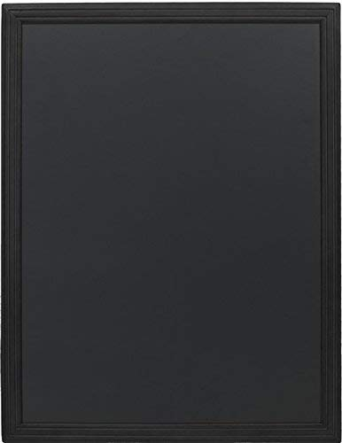 Securit - Lavagna a pannello, 70 x 90 cm, colore: Nero