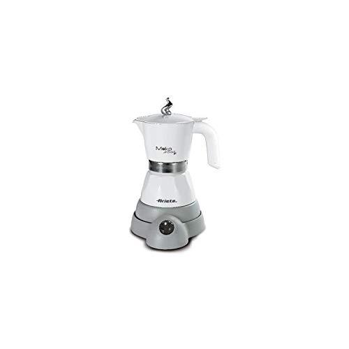 Ariete 1358 Moka Aroma - Moka elettrica 2/4 tazze, 400W, Autospegnimento, Mantenimento temperatura...