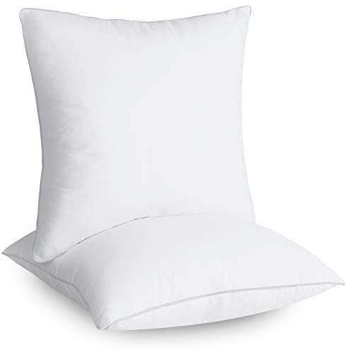 Utopia Bedding Set di 2 Cuscini - Imbottitura per Cuscini 45 x 45 cm - Cuscini Divano - Interno per Cuscini - Cuscino Copri Policotone