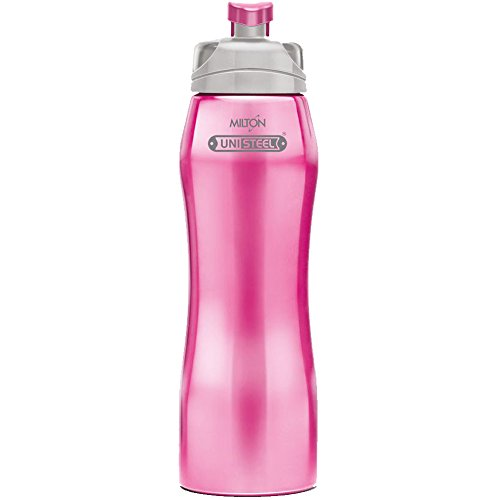 Milton Hawk Stainless Steel Water Bottle, 750 ml, Pink
