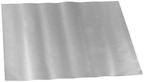 Dr. Oetker Dauerbackfolie 2er Set, Folie mit Antihaft-Beschichtung, umweltfreundliches Backen, ohne Einfetten oder Besprühen, Mikrowellen- und spülmaschinengeeignet, (Farbe: silber), Menge: 1x 2er Set