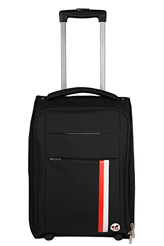 3G Polyester 20 Inch /55 cm Soft Sided Luggage Trolley Cabin Size Suitcase