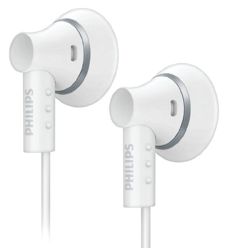 Philips SHE3000WT/10 - Auriculares de botón, blanco