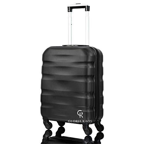 Gloria Kaos - Valigia Max Cabin 55x40x20cm Bagaglio a Mano Ultra Leggero Antigraffio - Ideale Per...