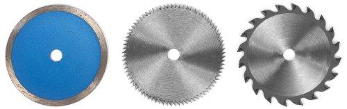 Einhell - Juego de hojas de sierra para sierra circular pequeña de mano (85 x 10 mm, 6 unidades)