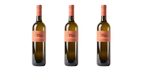 3 Bottiglie di Friulano DOC dei Colli Orientali del Friuli | Cantina Petrucco | Annata 2017