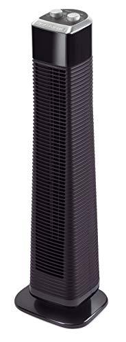 Rowenta VU6140 Classic Tower Turmventilator, leise, Ventilator, 3 Geschwindigkeitsstufen, mit Timer