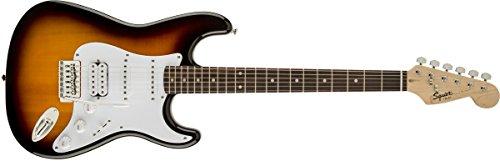 Fender Squier 310005532 Bullet Fat Stratocaster Right Handed Electric Guitar (Brown Sunburst, 6-Strings)