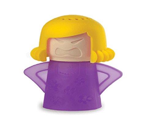 Angry Mamá Microwave Cleaner, TankerStreet Limpiador de Microondas – Base Púrpura