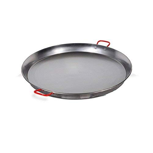 La Ideal 2898200 Paellera in Ferro Spazzolato, Diametro 70 cm
