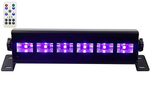 Uv luci del Palcoscenico, Latta Alvor UV Luce Effetto UV Luce Nera Par luci del Palcoscenico DMX 512...
