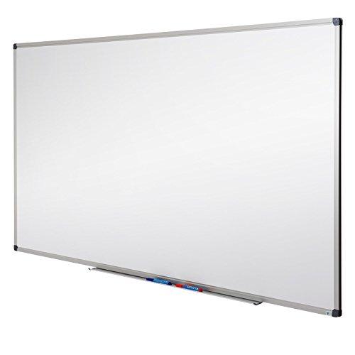 MOB Whiteboard - Sieger Preis-Leistung - 10 Größen wählbar - Magnettafel beschreibbar - Magnetwand mit Alurahmen, magnetisch (60 x 90 cm)