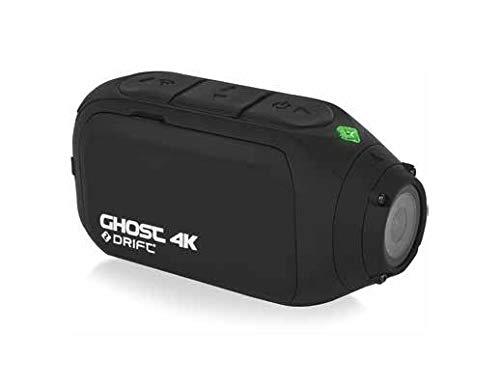Drift HD Ghost 4K UHD Motorrad Aktion Helmkamera + gratis Gehäuse & LCD Bildschirm