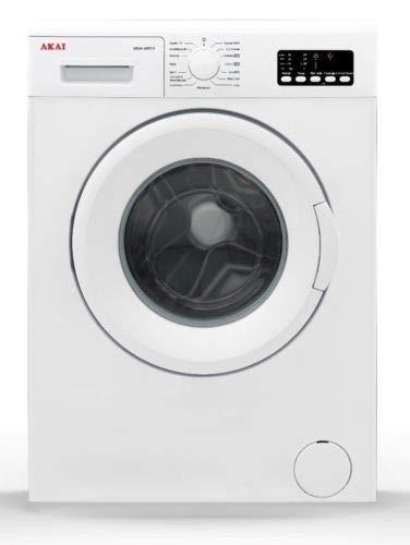 Akai AQUA6003V lavatrice Libera installazione Caricamento frontale Bianco 6 kg 1000 Giri/min A++